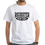 Rochester New York White T-Shirt
