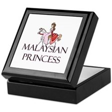 Malaysian Princess Keepsake Box