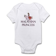 Malaysian Princess Infant Bodysuit