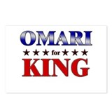 OMARI for king Postcards (Package of 8)