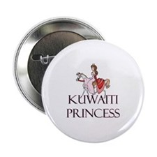 "Kuwaiti Princess 2.25"" Button (10 pack)"