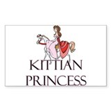 Kittian Princess Rectangle Decal
