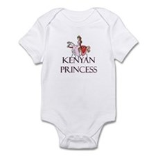 Kenyan Princess Infant Bodysuit