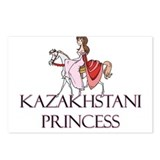 Kazakhstani Princess Postcards (Package of 8)