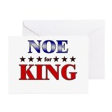 NOE for king Greeting Cards (Pk of 20)