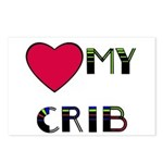 LOVE MY CRIB Postcards (Package of 8)