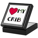 LOVE MY CRIB Keepsake Box