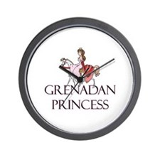 Grenadan Princess Wall Clock