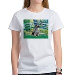 Bridge / Keeshond Women's T-Shirt