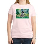 Bridge / Keeshond Women's Light T-Shirt