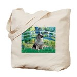 Bridge / Keeshond Tote Bag