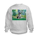Bridge / Keeshond Kids Sweatshirt