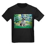 Bridge / Keeshond Kids Dark T-Shirt