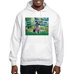 Bridge / Keeshond Hooded Sweatshirt