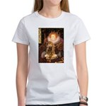 Queen / Cocker Spaniel (br) Women's T-Shirt