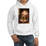 Queen / Cocker Spaniel (br) Hooded Sweatshirt