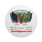 Flags of the Irish Brigade Keepsake (Round)