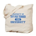 Toy Fox Terrier U. Tote Bag