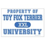 Toy Fox Terrier U. Large Poster