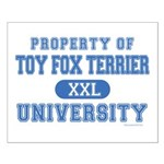 Toy Fox Terrier U. Small Poster