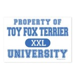 Toy Fox Terrier U. Postcards (Package of 8)