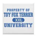 Toy Fox Terrier U. Tile Coaster