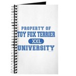 Toy Fox Terrier U. Journal