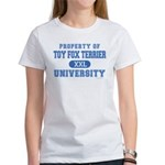 Toy Fox Terrier U. Women's T-Shirt