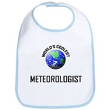 World's Coolest METEOROLOGIST Bib
