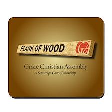 Plank Of Wood Mousepad