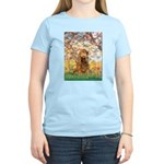 Spring /Cocker Spaniel (buff) Women's Light T-Shir