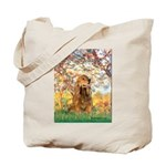 Spring /Cocker Spaniel (buff) Tote Bag