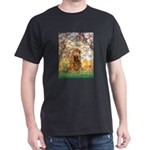 Spring /Cocker Spaniel (buff) Dark T-Shirt