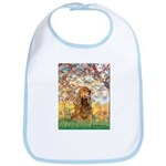 Spring /Cocker Spaniel (buff) Bib
