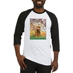 Spring /Cocker Spaniel (buff) Baseball Jersey