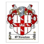 O'Nowlan Family Crest Small Poster
