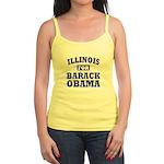 Illinois for Obama Jr. Spaghetti Tank
