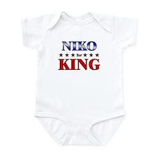 NIKO for king Infant Bodysuit