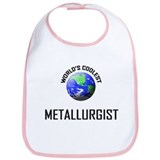 World's Coolest METALLURGIST Bib