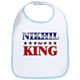 NIKHIL for king Bib