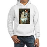 Ophelia / Cocker Spaniel (buff) Hooded Sweatshirt