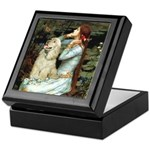 Ophelia / Cocker Spaniel (buff) Keepsake Box