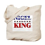 NIGEL for king Tote Bag