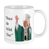 Peace Be With You! Coffee Mug