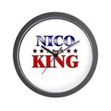 NICO for king Wall Clock