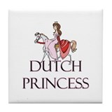 Dutch Princess Tile Coaster