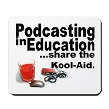 Podcasting in Education Mousepad