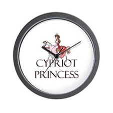 Cypriot Princess Wall Clock