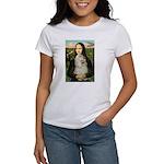 Mona Lisa /Cocker Spaniel Women's T-Shirt