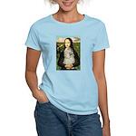 Mona Lisa /Cocker Spaniel Women's Light T-Shirt